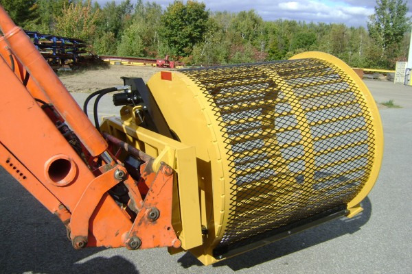 Ramasseur de roche ROTO SCREEN ROCK SEPARATOR Conception Maximo