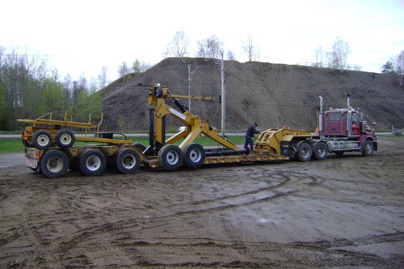 Drainage Plows Draineuse Conception Maximo